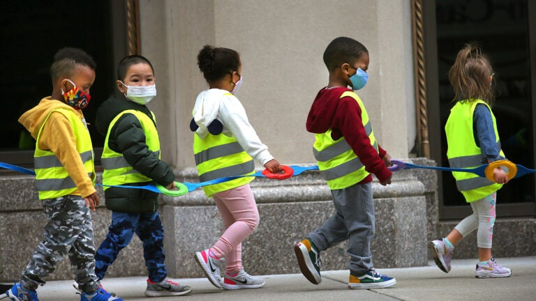 Mass. Early Education board approves mask mandate for children 5 & up 1