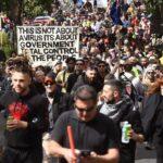 """Anti-Lockdown Protesters In Australia """"Break Police Line"""" As Clashes Erupt 6"""