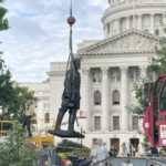 Statues Toppled After George Floyd's Death Return to Wisconsin Following $82K in Repairs 5