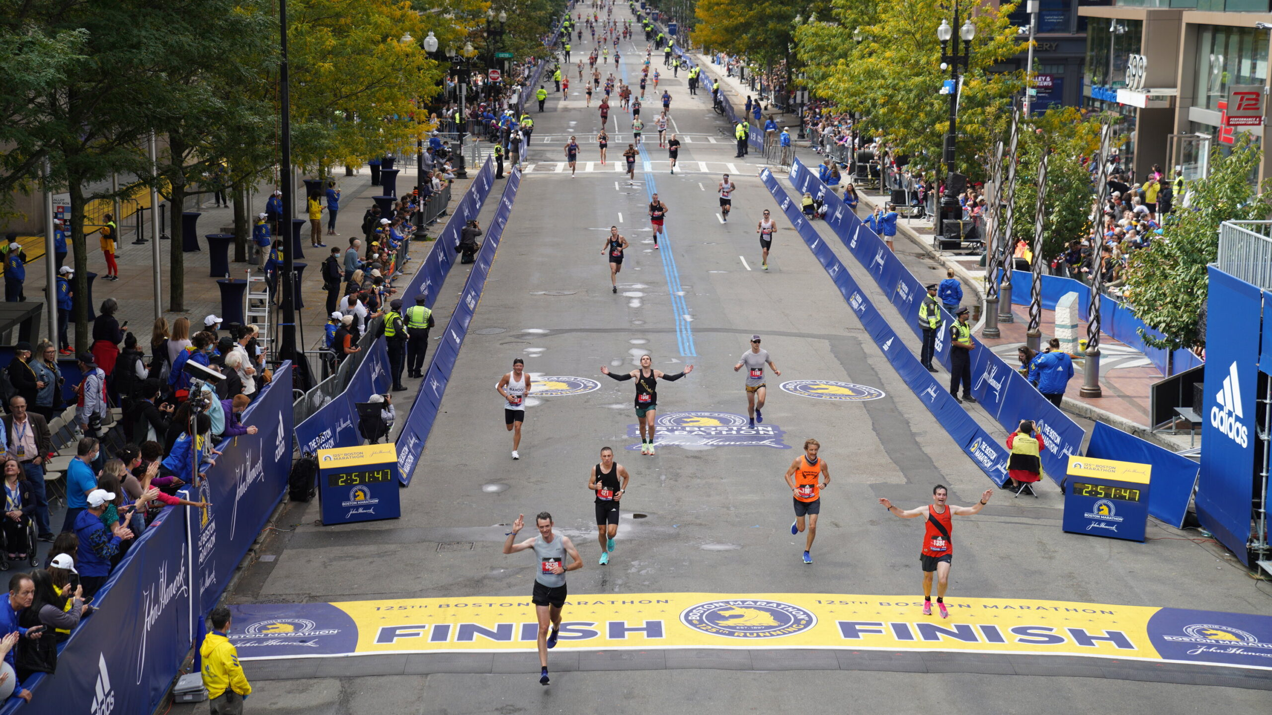 The Boston Marathon Returns, This Time as a Fall Classic 1