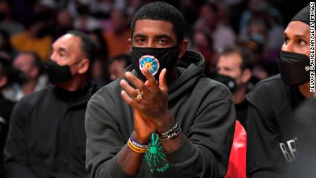 Kyrie Irving 'will not play or practice' with the Brooklyn Nets until he is vaccinated against Covid-19 1