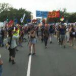 Climate activists protest outside U.S. Capitol 8