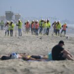 Huntington Beach shore reopens to swimmers for the first time since oil spill 5
