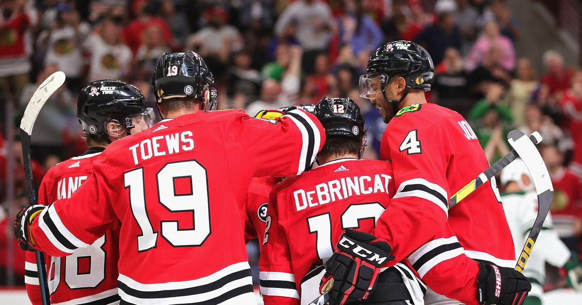 On eve of opener, remade Blackhawks epitomize the uncertainty of 2021-22 NHL season 1
