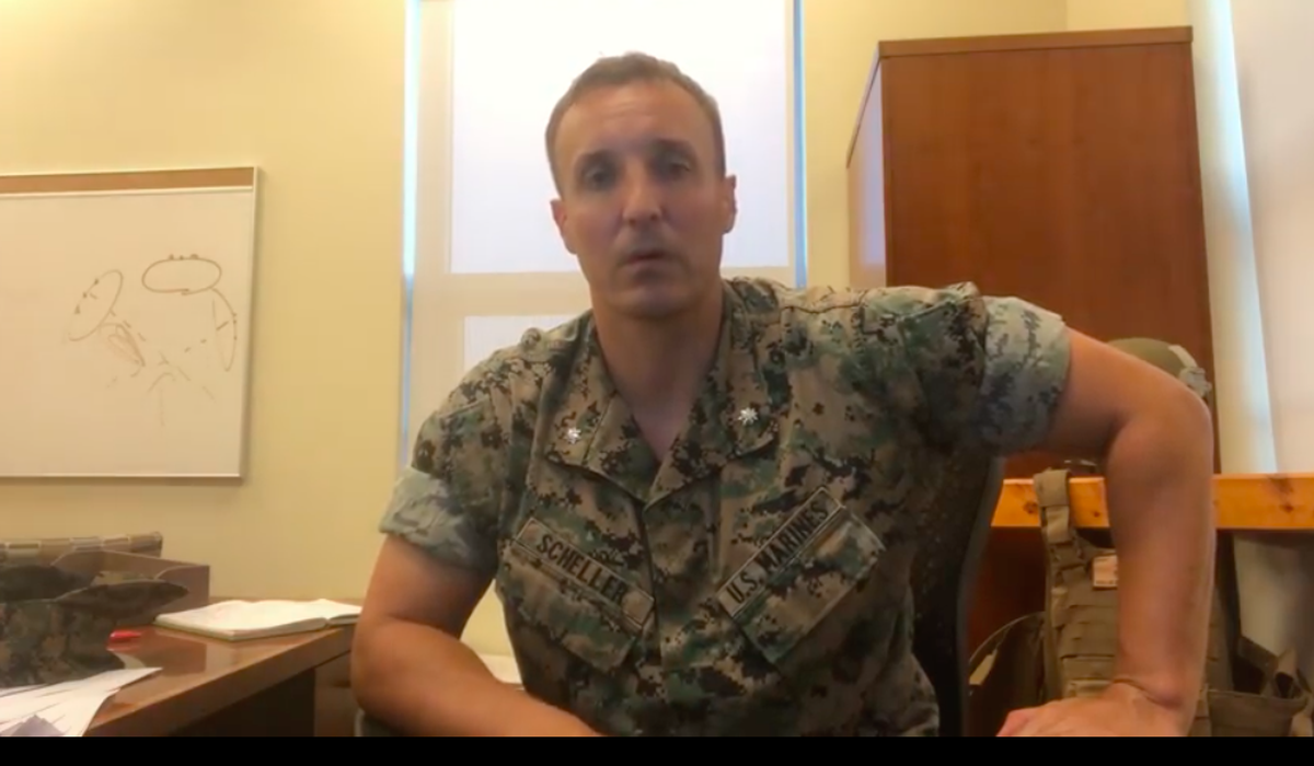Stuart Scheller, Marine officer jailed for Afghanistan criticisms, to plead guilty to some charges 1