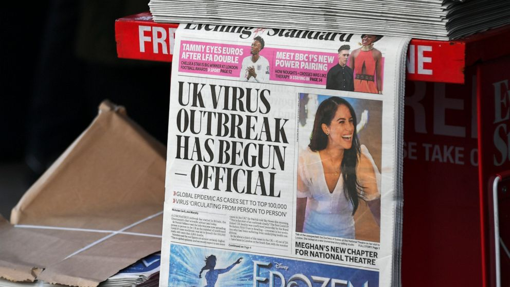 Report concludes UK waited too long for virus lockdown 1