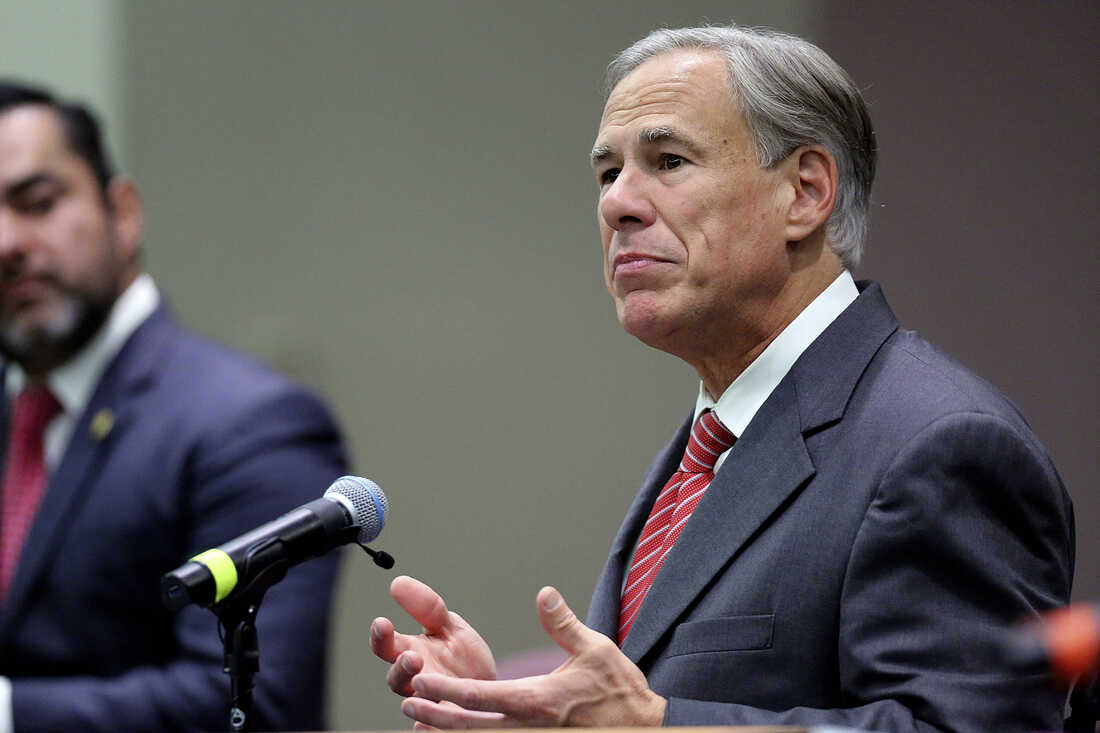 Texas Gov. Greg Abbott orders a ban on all COVID-19 vaccine mandates in the state 1