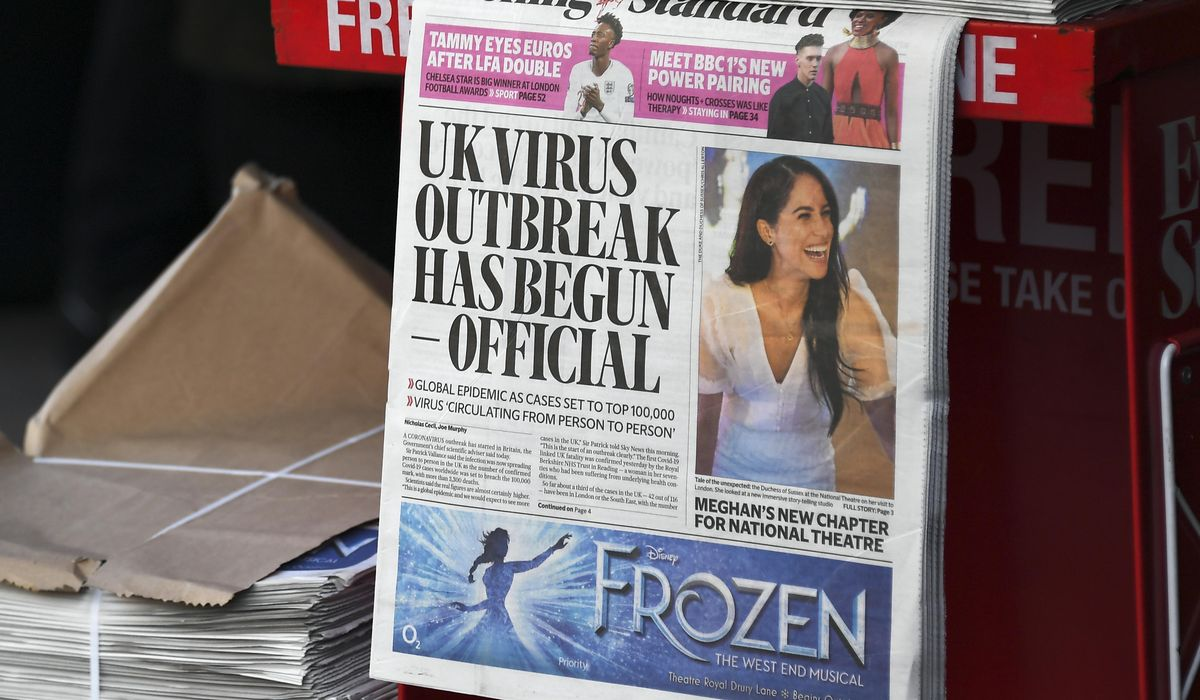 U.K.'s slow coronavirus lockdown cost thousands of lives: Report 1
