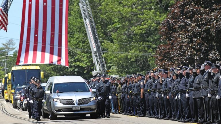 Weymouth to consider naming gym after fallen officer 1