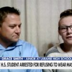 Wyoming teen arrested over school's mask mandate blasts 'ridiculous' bust 4