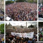 Corporate Media Largely Silent as Millions Protest Vaccine Mandates Worldwide 4