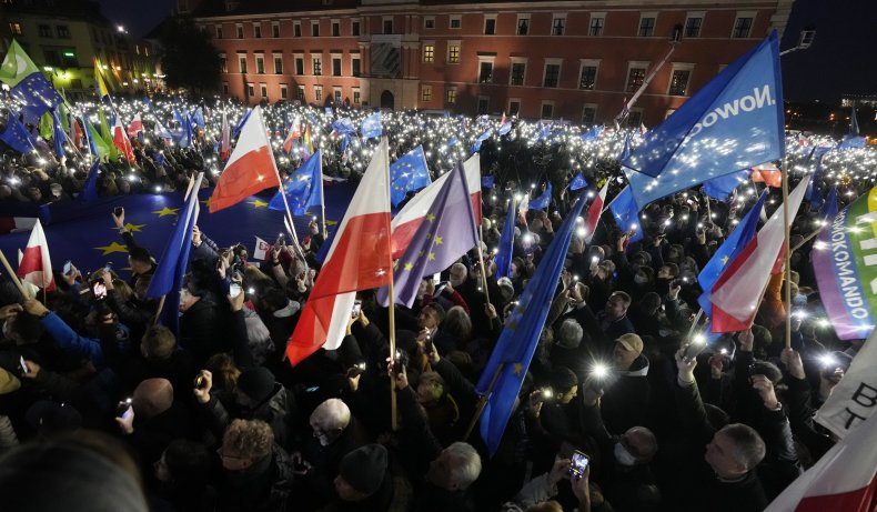 Polish Prime Minister Calls 'Polexit' Fake News Day After Massive Protests 1