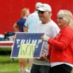 Protesters Crowd Michigan Capitol After Donald Trump Calls for 2020 'Forensic Audit' 4